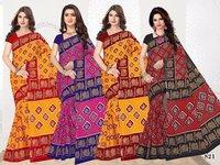 Pure Cotton Chappa Sarees
