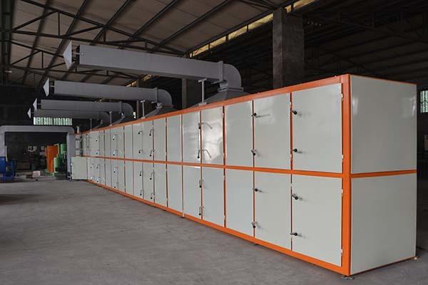 2 molds 700pcs per hour capcity egg tray machine