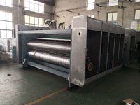 YS Series of 4-color Flexo Ink Corrugated Paperboard Die-cutter and Grooving Machine Semi-Automatic Printing Slotting Machine