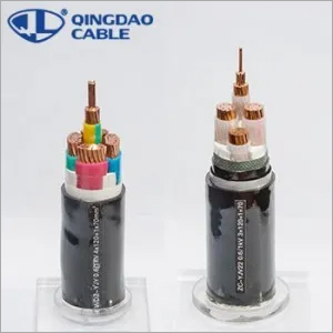 PVC Insulated Power Cable Wire Fire Resistant Cable