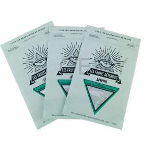 Professional manufacturer of fully biodegradable nuts packaging bags
