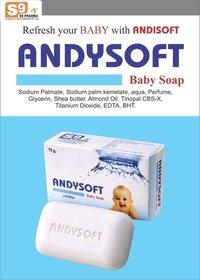 Baby Soap:Sodium Palmate+Sodium Palm Karnelate aqua+ Perfume, Glycerin+ Shea Butter+ Almond oil+Tinopal CBS-X, Titanium Di-Oxide + EDTA+BHT