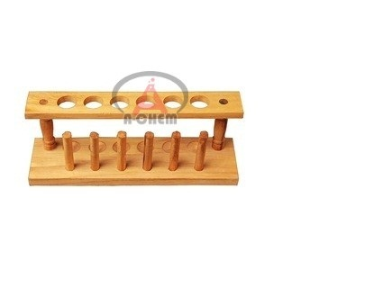 Test Tube Stand 6 peg 6 hole