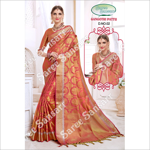 Ladies Gangotri Pattu Saree