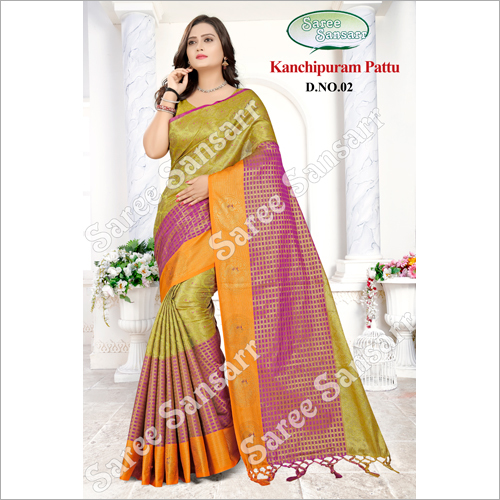 Ladies Kanchipuram Pattu Saree