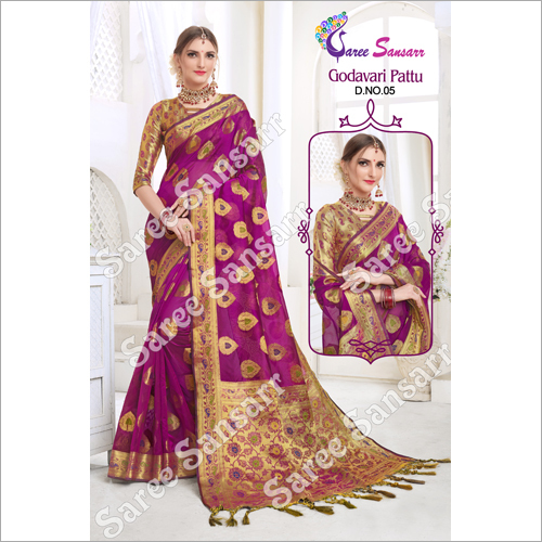 Ladies Godavari Pattu Saree