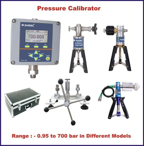 Pressure Calibrator With Pump