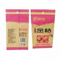 China factory of dried fruit packaging back sealed bags
