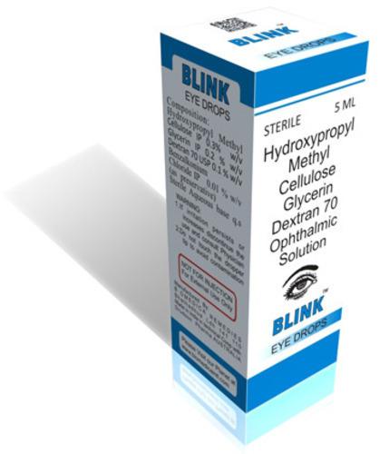 Hydroxypropyl Methyl Cellulose Glycerin Dextran Eye Drop