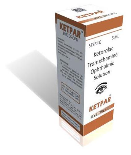 Ketorolac Tromethamine Ophthalmic Solution