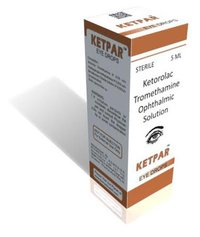 Ketorolac Tromethamine Ophthalmic Solution