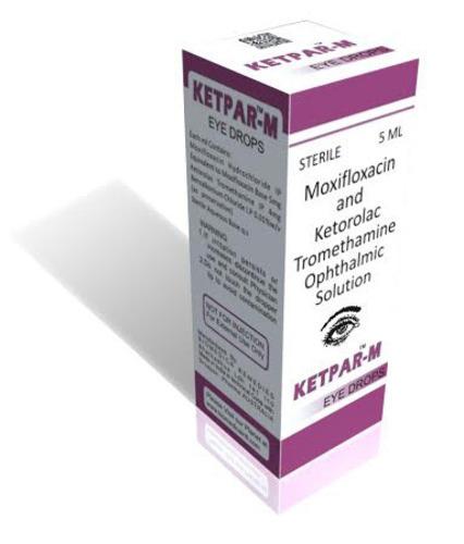 Moxifloxacin and Ketorolac Tromethamine Ophthalmic Solution