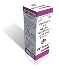 Moxifloxacin and Ketorolac Tromethamine Ophthalmic Solution