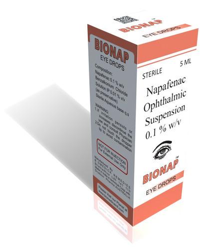 Napafenac Ophthalmic Suspension Eye Drops