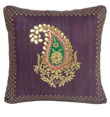 Cotton Embroidery Cushion Cover