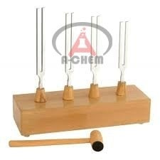 Tuning Fork stand with Hammer