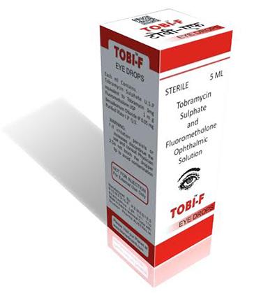 Tobramycin Sulphate and Fluorometholone Ophthalmic Solution