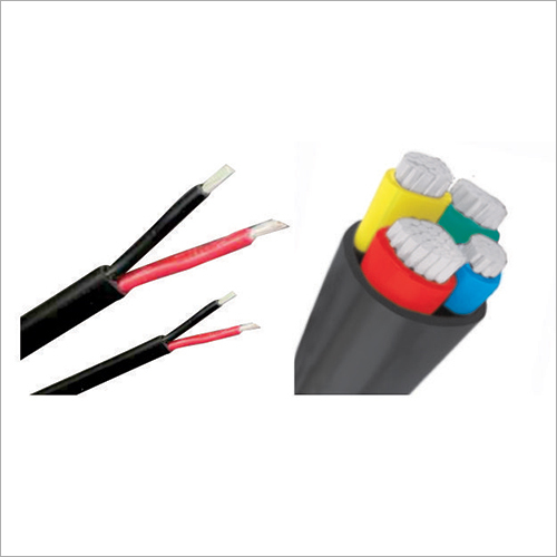 Flat And Round Aluminium Cable