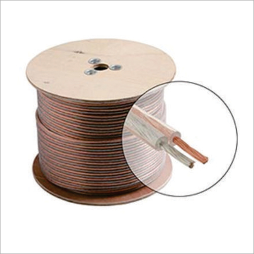 2 Core Transparent Speaker Wire