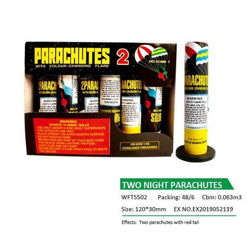 WFT5502 TWO NIGHT PARACHUTES