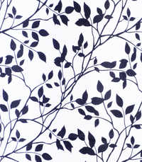 Leaf Print Window Curtain