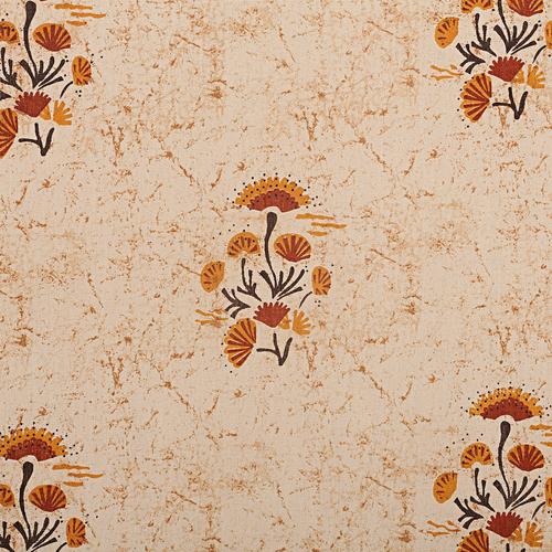 Flora Print Window Curtain