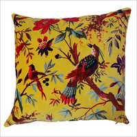 Bird Printed Cushion Cover