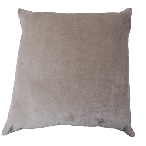 Grey Velvet Cushion Cover