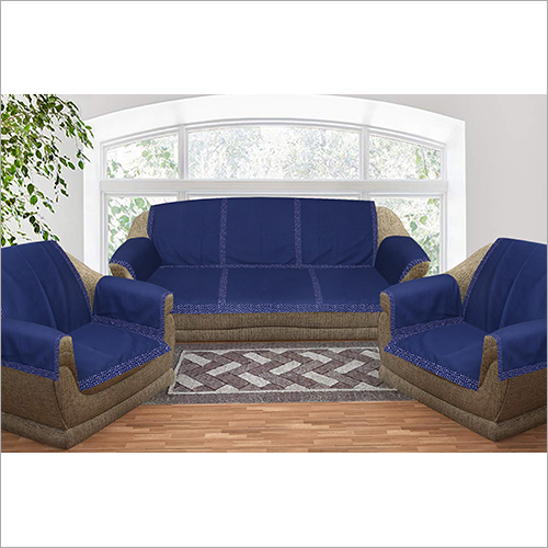 Navy Blue Sofa Cover