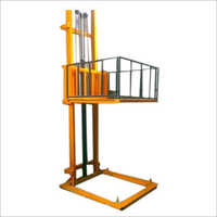 Hydraulic Lift Double Mast