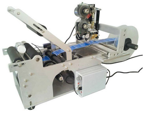 Round Bottle Labeling Machine With Batch Coding Machine