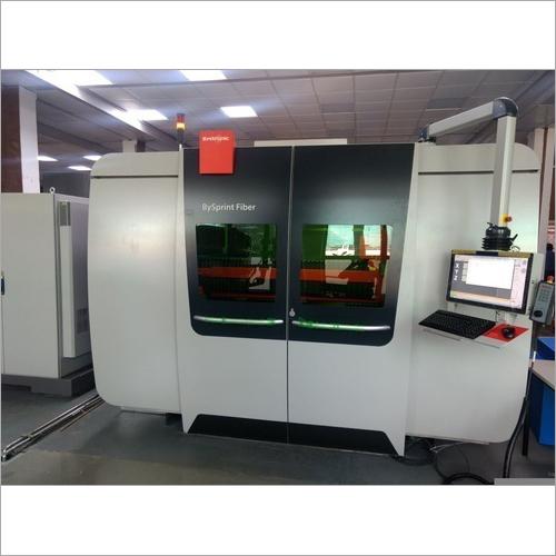 4 KW CNC Laser Machine
