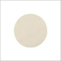 Polishing Felt Pad 125x6mm Grip White 2 Pack