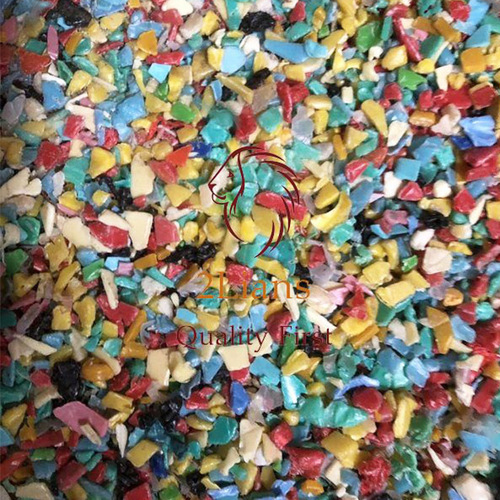 HDPE regrind mix color Injection plastic scrap