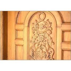 Wood Carving Door Designing Services
