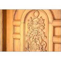 Wood Carving Door Designing Services