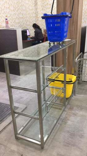 GLASS CENTRE TABLE