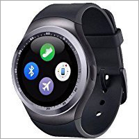 Black Bluetooth Smartwatch