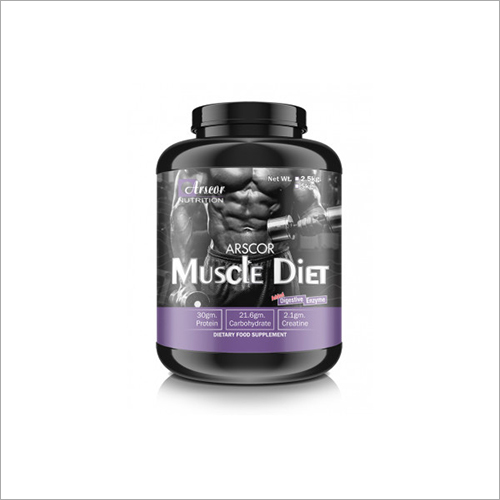 Muscle Diet Dietary Food Supplement