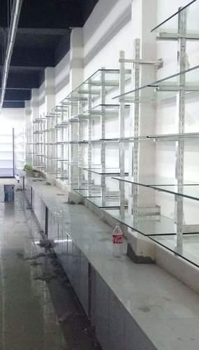 GLASS DISPLAY RACK