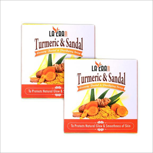 Turmeric and sandal Soap