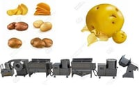 WIPL Fully Automatic Potato and Banana ,Chips Machine
