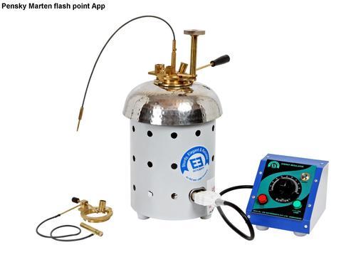 Pensky Marten Flash Point Apparatus Certifications: Iso 9001 : 2015