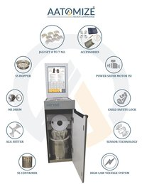 1HP SQURE Flour Mill (A101)