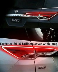 Fortuner 2018 Tail Lamp Cover With Light