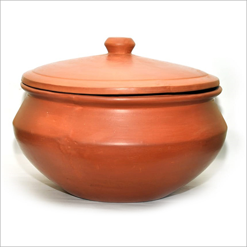12 Ltr Clay Biryani Pot