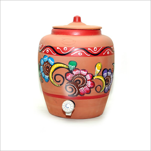 10 Ltr Clay Water Pot
