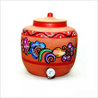 13 Ltr Clay Water Pot