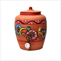 7 Ltr Clay  Water Pot