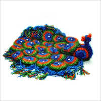 Peacock Table Cover